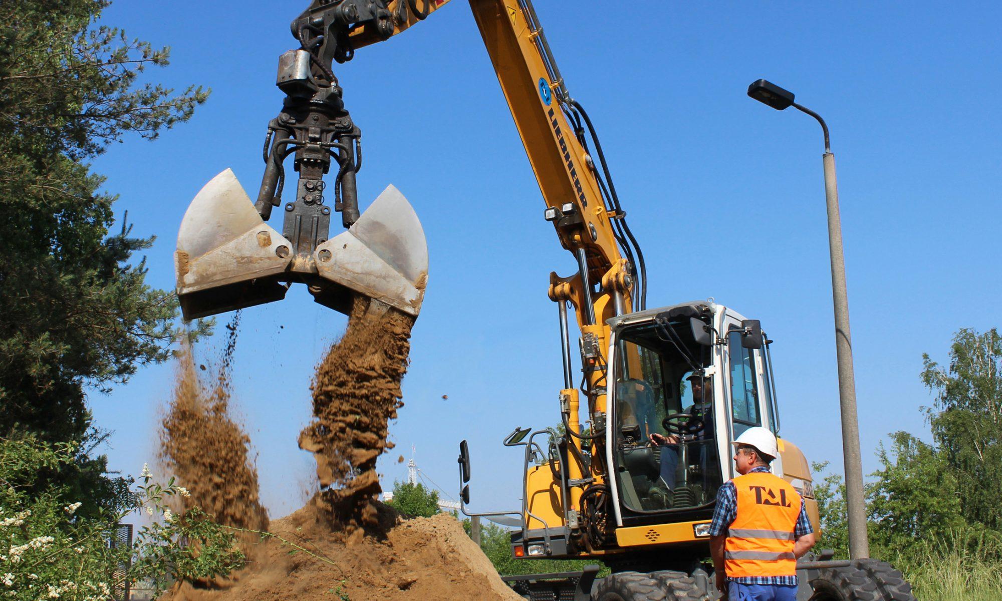 Trink- und Abwasserleitungsbau