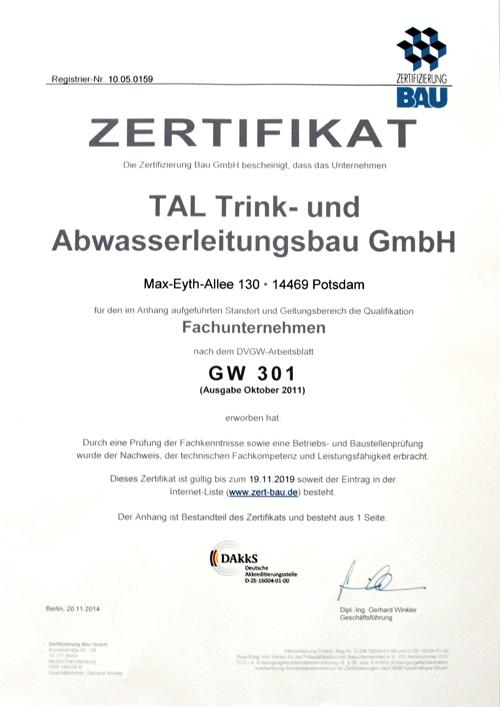 Wer sind wir? - TAL Potsdam GmbH
